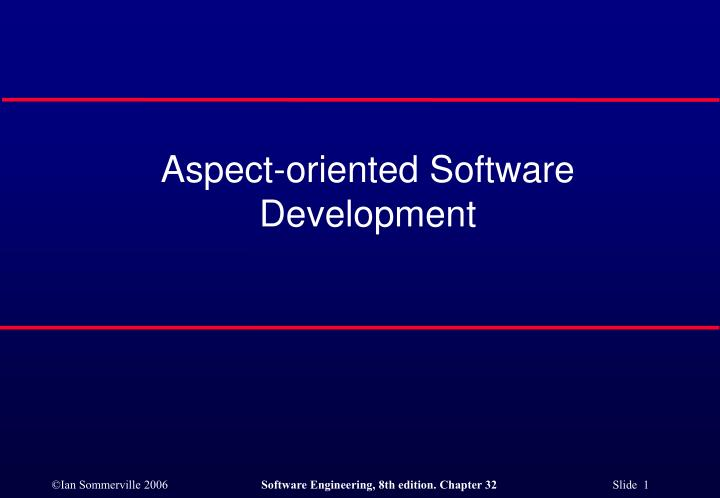 aspect oriented software development 2 Mobile application development: a joint effort of platforms, technologies, and frameworks - in the modern world of technology, advancement, and incessant innovation, web presence has become a vital aspect for all individuals and businesses that are interested in their growth and support.