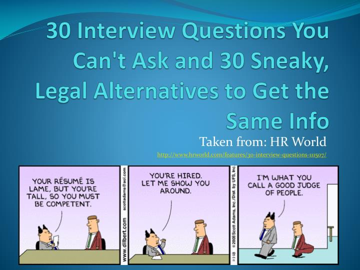 Ppt  30 Interview Questions You Can't Ask And 30 Sneaky. Mla Template Word 2013 Template. Sample Referral Cover Letters Template. Pay Raise Sample Letters Template. What Is The Best Resumes Template. Flirty Good Morning Text Messages For Her. Sample Writer Cover Letter Template. Chinese Food Menu Template. Gift Certificate Template 638575