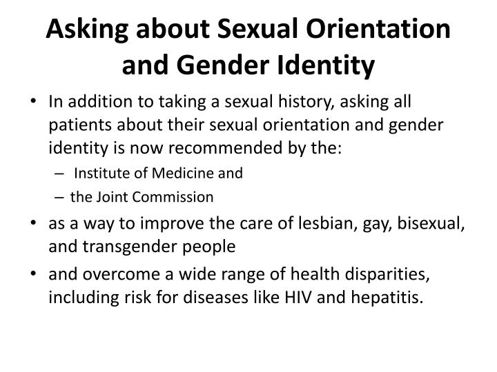describe sexual and gender identity the Sex, sexuality, sexual identity and values please help with the attached scenario identify two potential parent/guardian, school  this solution describes important factors in gender identity and sexual differentiation  theories of gender identity and sex-role stereotyping.