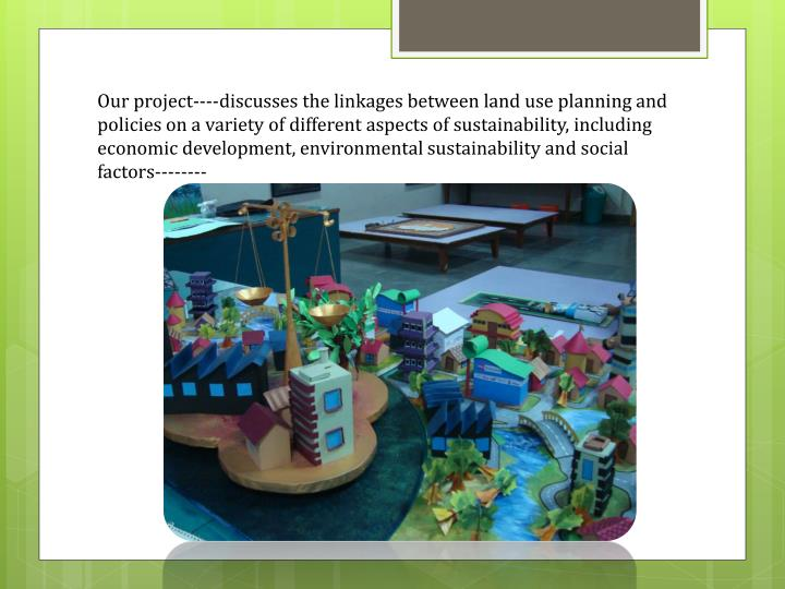 Our project----discusses