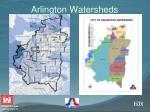 arlington watersheds