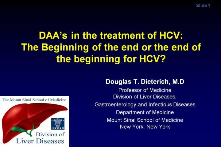 daa s in the treatment of hcv the beginning of the end or the end of the beginning for hcv n.