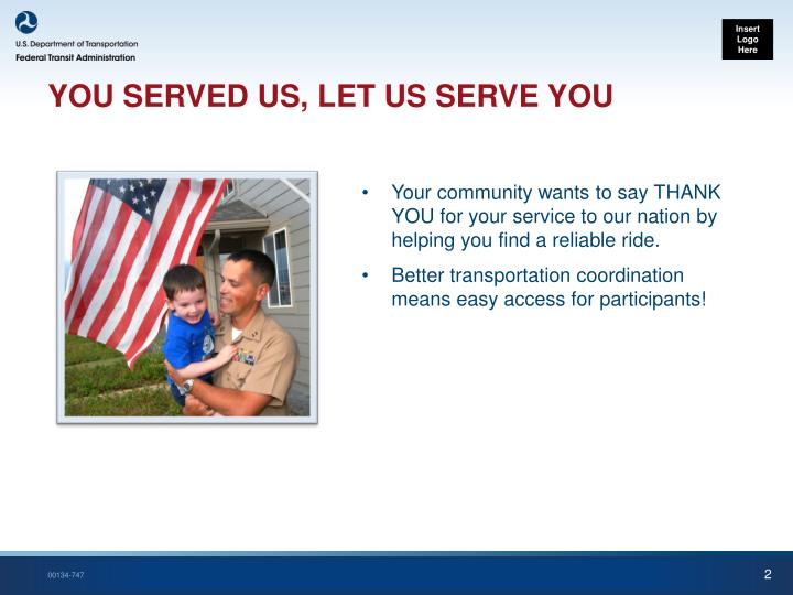 You served us let us serve you