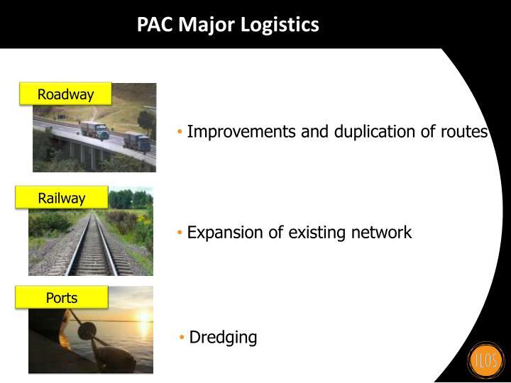 PAC Major Logistics