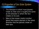 10 properties of our solar system1
