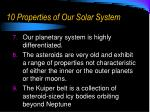 10 properties of our solar system2