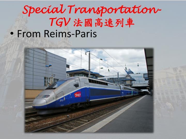 Special Transportation-