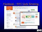facebook nyc quits smoking