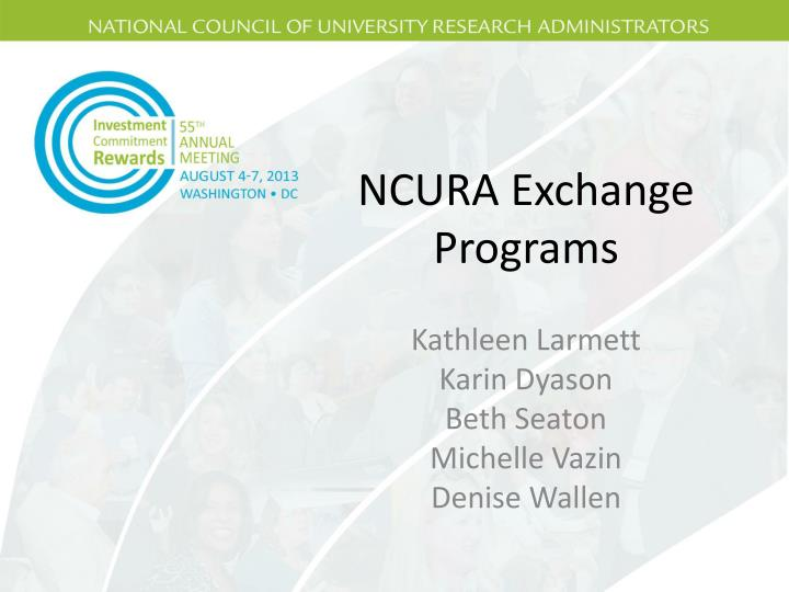 ncura exchange programs n.