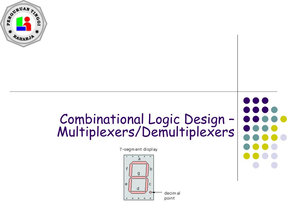 Ppt Combinational Logic Design Multiplexers Demultiplexers Multiplexer Diagram And Truth Table N