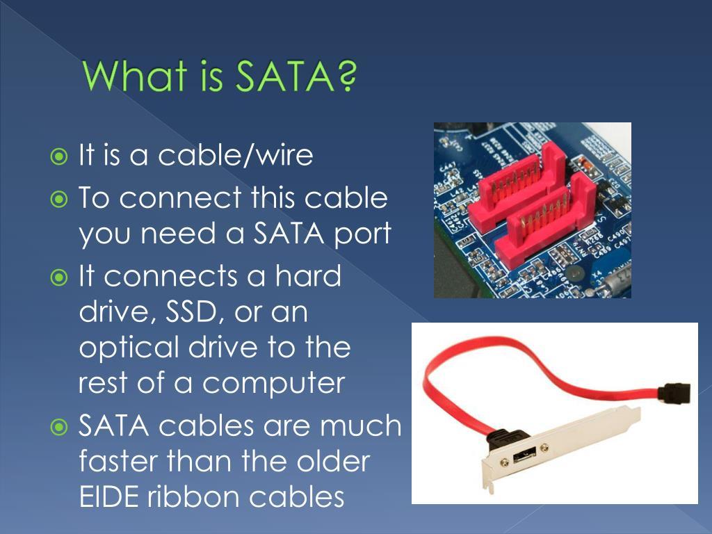 PPT - SATA PowerPoint Presentation - ID:2912420