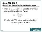 bal 001 mx 0 real power balancing control performance10