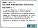 bal 001 mx 0 real power balancing control performance22