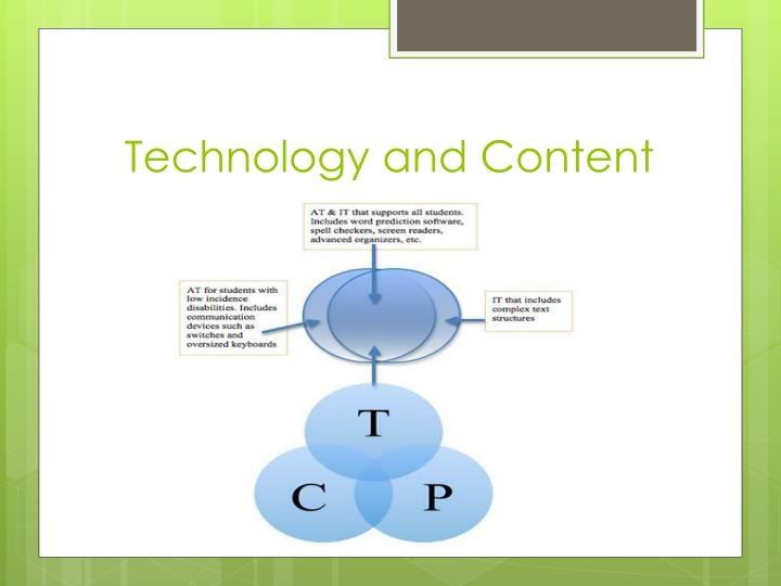 Technology and Content