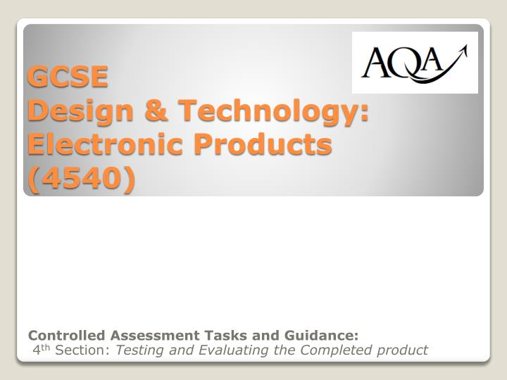 design and technology assessment