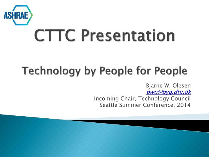cttc presentation technology by people for people n.