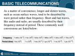 basic telecommunications9