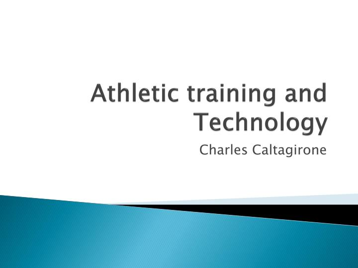athletic training and technology n.