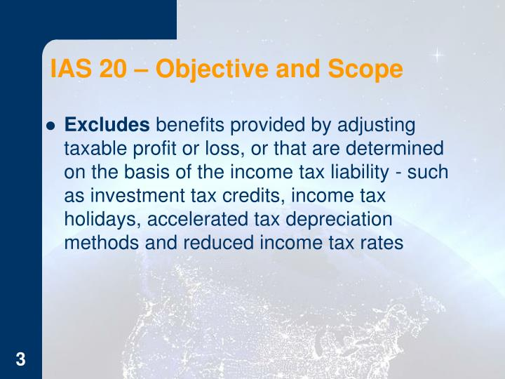 Ias 20 objective and scope1
