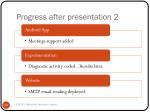 progress after presentation 2