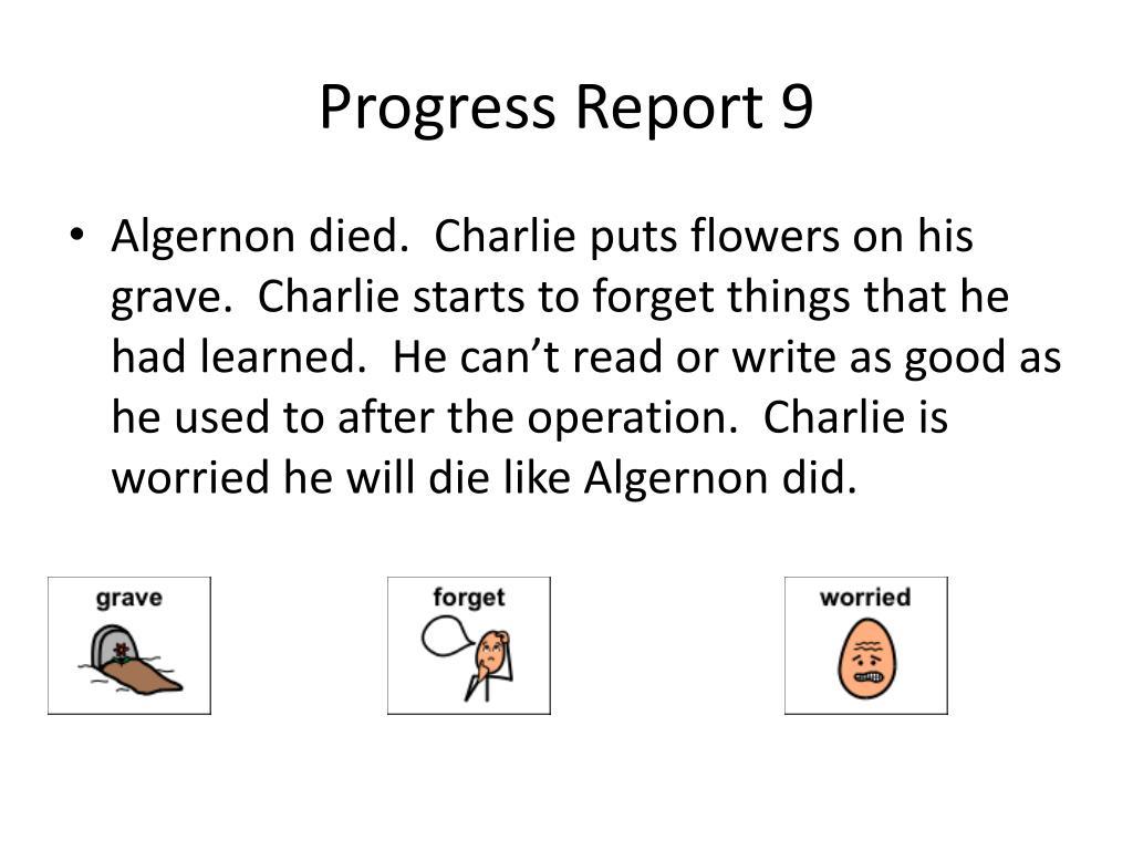 PPT , Flowers for Algernon PowerPoint Presentation, free