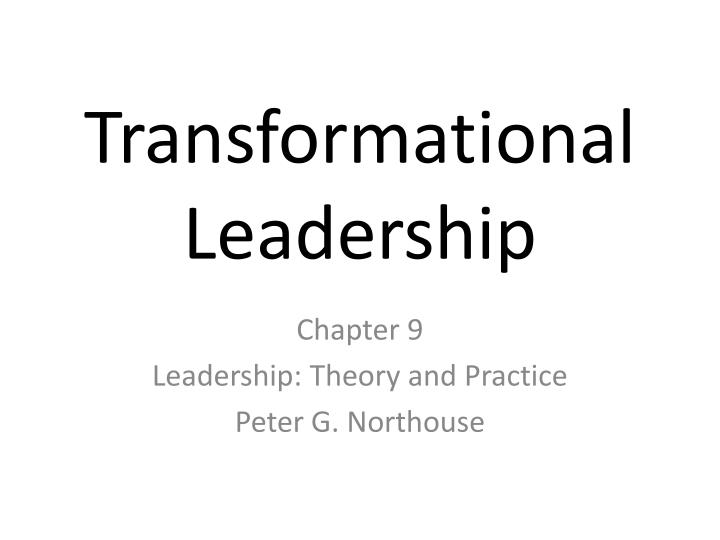 transformational leadership research papers Transformational leadership this research paper transformational leadership and other 64,000+ term papers, college essay examples and free essays are available now on reviewessayscom autor: review • march 1, 2011 • research paper • 989 words (4 pages) • 1,441 views.