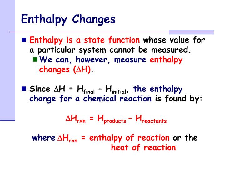 PPT - Enthalpy Changes PowerPoint Presentation, free ...