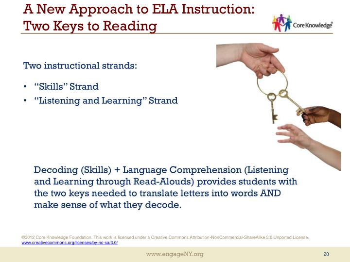 A New Approach to ELA Instruction: