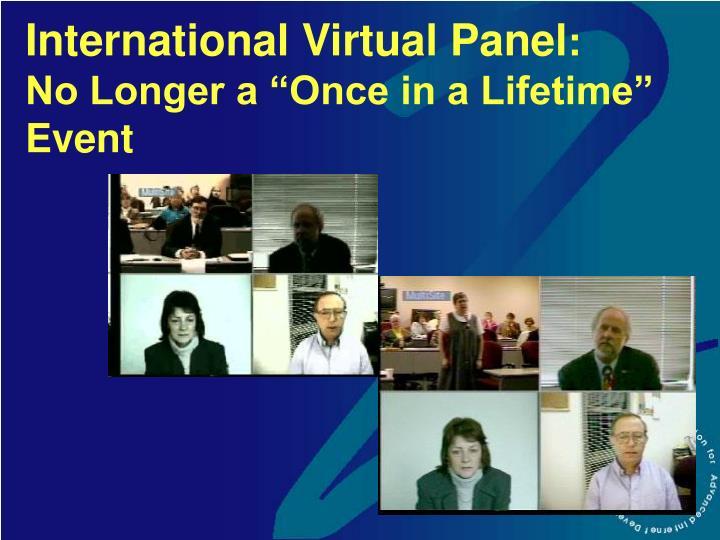 International Virtual Panel