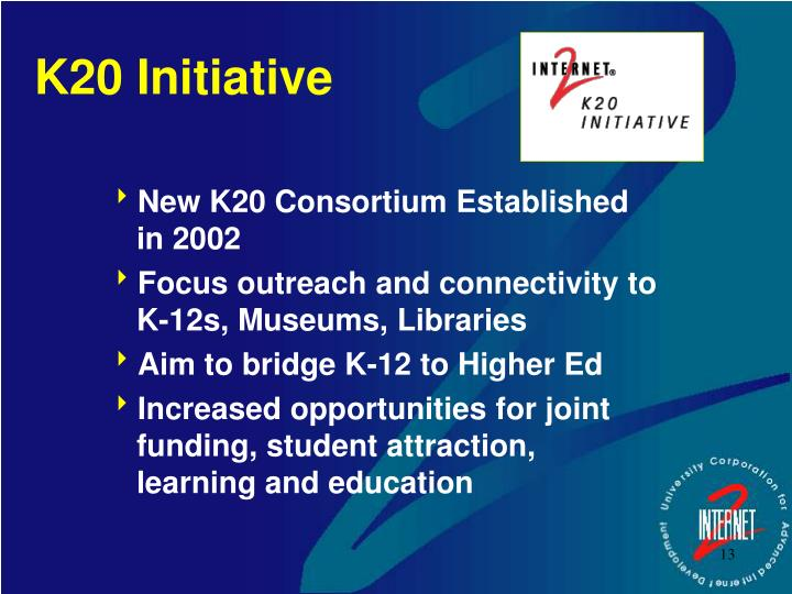 K20 Initiative