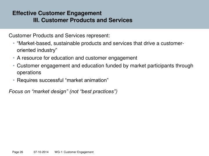 Effective Customer Engagement