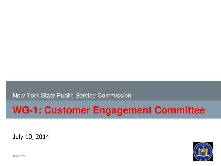 New york state public service commission