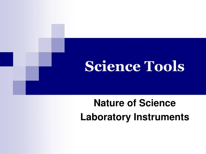 science tools n.