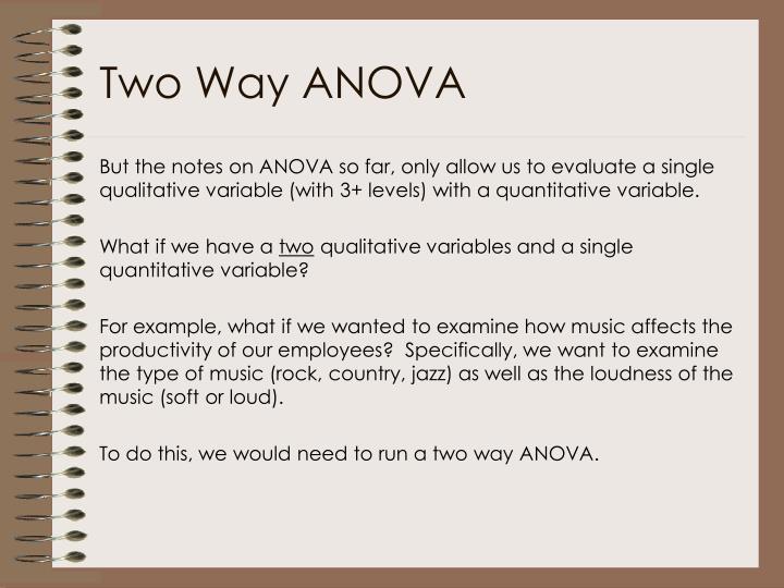 Two way anova1