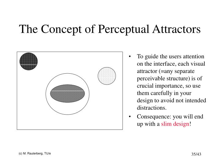 The Concept of Perceptual Attractors