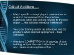 critical additions1