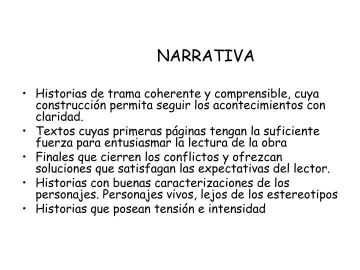 Narrativa