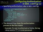 configuring authorization in web config 2