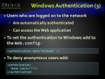 windows authentication 3