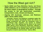 how the west got rich2