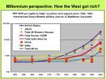 millennium perspective how the west got rich