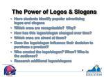 the power of logos slogans1