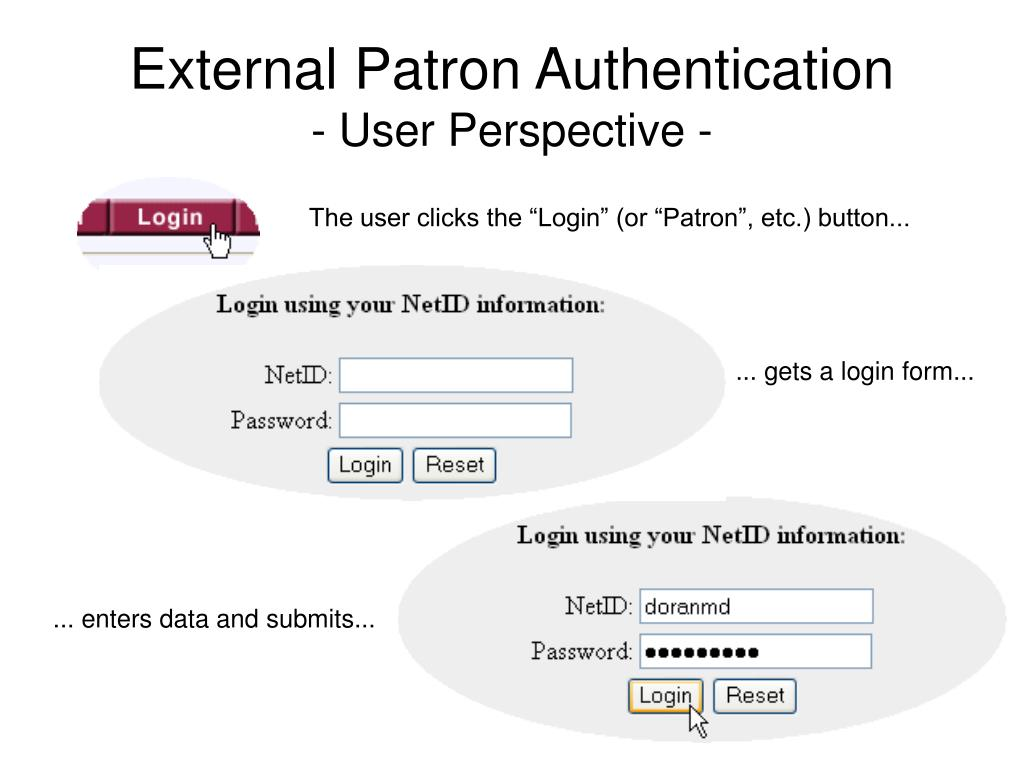 PPT - Introduction to Voyager External Patron Authentication
