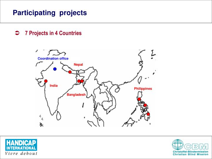 Participating  projects