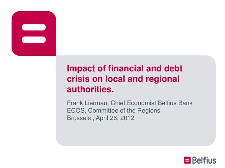 impact of the financial crisis on banking Check against delivery the impact of the financial crisis on developing countries justin yifu lin senior vice president and chief economist the world bank.