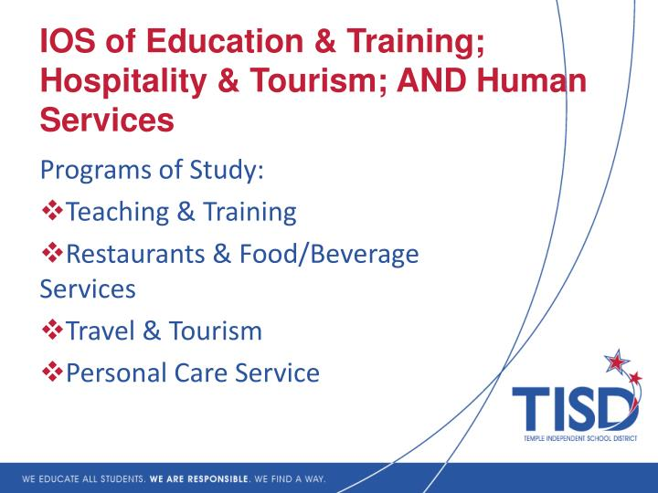 why we study torism and hospitality We and institutions like and sustainable growth and boosted the travel and hospitality sectors while work and study at the same time often have an edge.