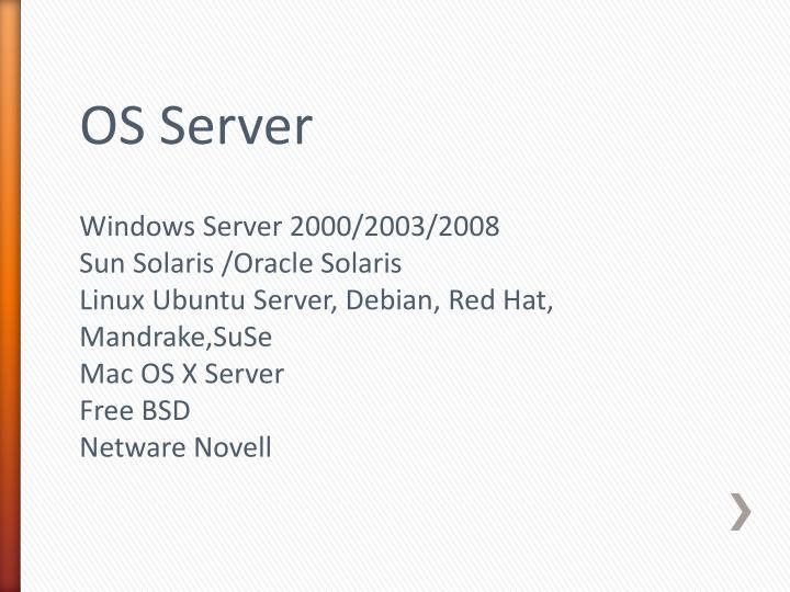 OS Server