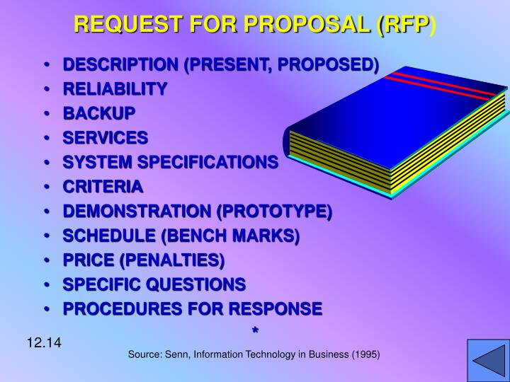 REQUEST FOR PROPOSAL (RFP