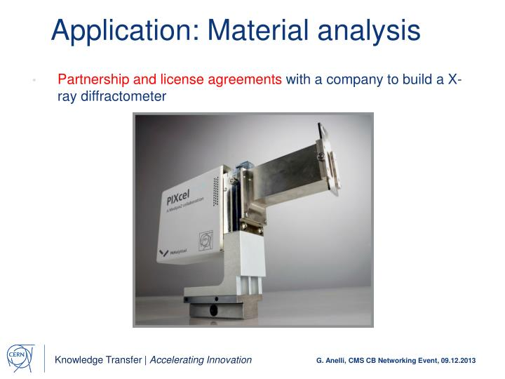 Application: Material analysis