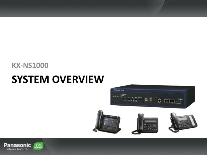 system overview n.